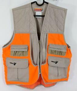 Winchester-Conceal-Mens-Sz-Medium-Orange-Tan-Shooting-Vest-Hunting-Gun-Pocket