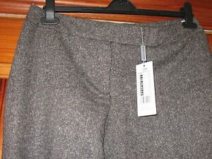 More-and-More-Grey-Ladies-3-4-Length-Cropped-Tailored-Trousers-size-40