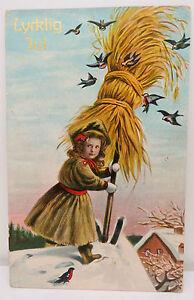 Lycklig-Jul-1912-Grandview-USA-Postcard-Ak-Postcard-A2427