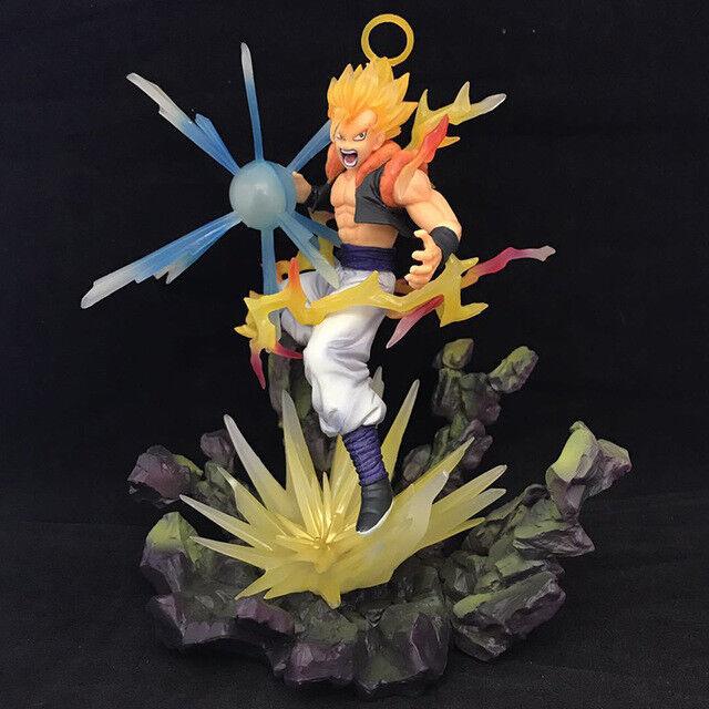 Dragon Ball Z Gogeta Action Figure Fighting Super Saiyan Gogeta PVC figure Toys
