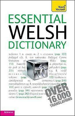 1 of 1 - Lewis, Edwin, Essential Welsh Dictionary: Teach Yourself, Very Good Book
