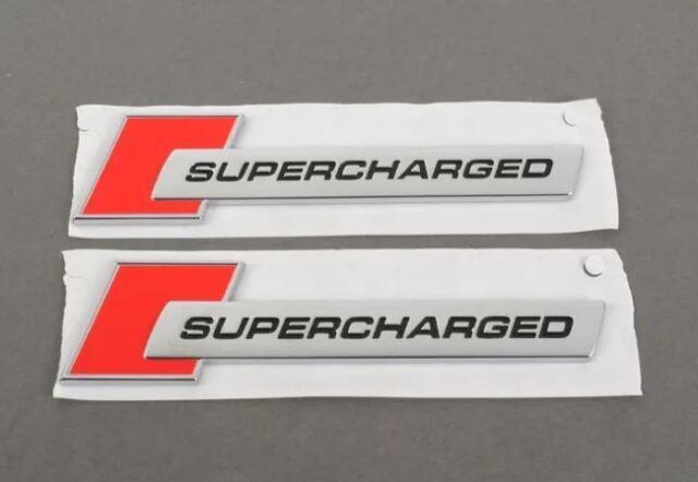 Original Audi A6 C6 C7 A7 C7 Q5 Q7 Supercharged Insignia Set 4F0853601A2ZZ OEM