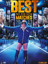NEW GENUINE WWE 3 DVD BEST PAY PER VIEW MATCHES 2013 FREE 1STCLS S&H