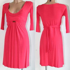 Caricamento dell immagine in corso Vestito-Pinko-rosso-donna-S-viscosa-abito -vestitino- 63775550653