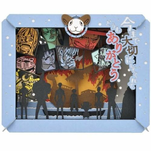 ENSKY PAPER THEATER ONEPIECE One Piece PT-105 Luffy from Japan