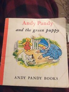 H1h Pb Book Creased Andy Pandy And Th3 Green Puppy Creased Cover - Leicester, United Kingdom - H1h Pb Book Creased Andy Pandy And Th3 Green Puppy Creased Cover - Leicester, United Kingdom