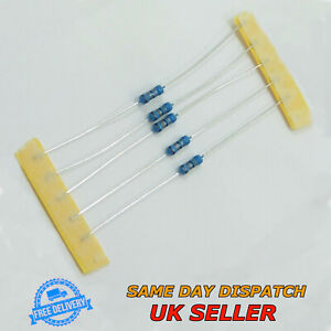 5K1 Ohm 0.25w Metal Film Resistor 1/% 1//4w UK Seller