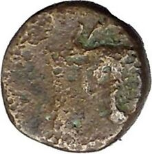 MYTILENE Lesbos Island GREEK City 440BC Apollo Bull Ancient Greek Coin i45675