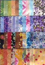 "Jelly Medley Fabric Jelly Roll Strips - 40 strips 2.5"" x 44"" Set 02"