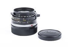 ex+ Leica summilux 35mm f/1.4 pre asph in black