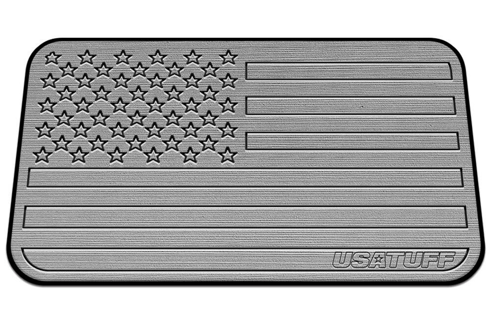 USATuff Cooler Pad for RTIC 65qt - SeaDek Marine EVA Mat - G B - USA Flag
