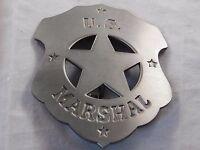 James Arness In Gunsmoke- Authorized Replica - U.s. Marshal Badge Made Usa