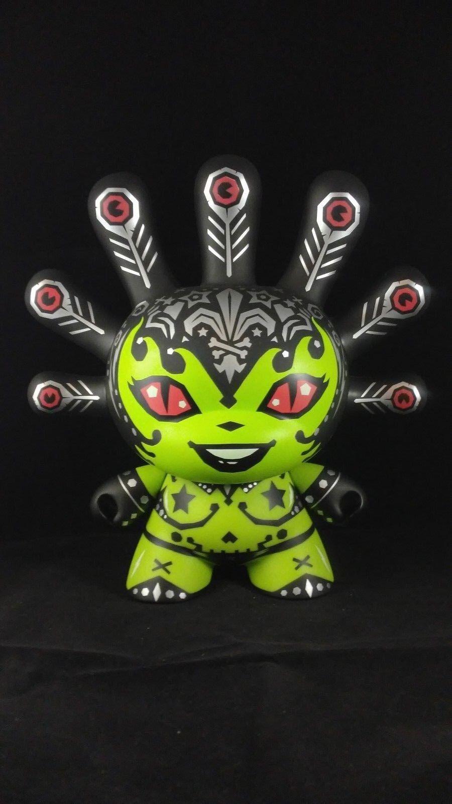 Kidrobot Dunny Dunny Dunny 8  Green Madame Mayhem Kronk ab4083