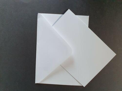 C6 White Cards /& Envelopes Pack Of 10