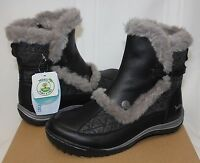 Jambu Women's Eskimo Leather Boots Black With Box