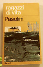 1971c = RAGAZZI DI VITA = PASOLINI..GARZANTI  EDITORE..ETNA