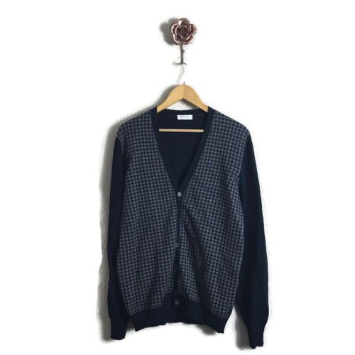 Gran Sasso Made In Italy Cashmere Elbow Patch Houn