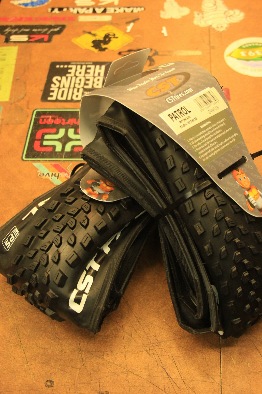 CST Patrol EPS 27.5 x 2.25 Folding Enduro All Mountain Bike Tires