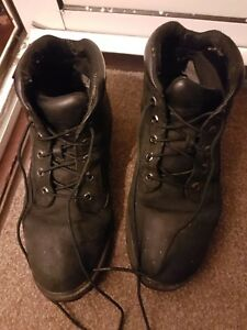 Timberland-AF-6-Inch-Premium-Mens-Boots-Black-Leather-Lace-Up-10054-UK-10