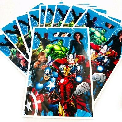 Kitchen, Dining & Bar Energetic 20 Pcs Set Avengers Candy Plastic Bags Kids Birthday Party Supply Baking Accs. & Cake Decorating