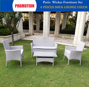 Rattan-Patio-4PC-Outdoor-Furniture-Setting-Patio-Wicker-Set-Table-Chairs-Garden