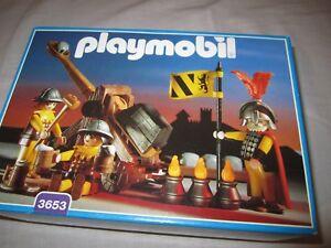 playmobil-nr-3653-ridders-met-katapult-3666-3667-3651