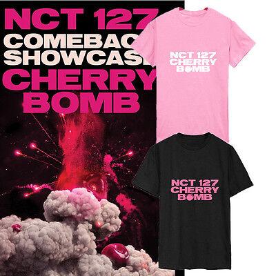 KPOP NCT 127 T shirt CHERRY BOMB Tshirt NCT#127 DongHyuck Tee JaeHyun Letter Tee