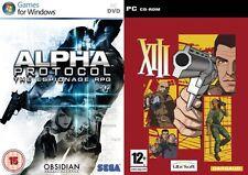 alpha protocol the espionage rpg & xiii   new&sealed