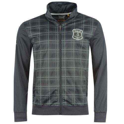 Everlast Herrenjacke Zip Jacke Training Sport Schwarz Weiß Grau NEU S M L XL XXL