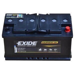 Exide Equipment ES900 12V 80AH Starter Battery En (A): 540 Navy Boat Motorhomes
