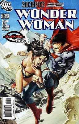 SIGNED JG JONES WONDER WOMAN #219 1ST PRINT SUPERMAN BATMAN DIANA KILLS MAX LORD