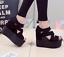 Womens-High-Platform-Peep-Toe-Hidden-Wedge-Heel-Sandals-Hollow-Out-Roman-Shoes thumbnail 10