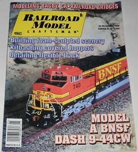Railroad-Model-Craftsman-Magazine-Vol-68-No-8-January-2000-Modeling-Bagby-Ca