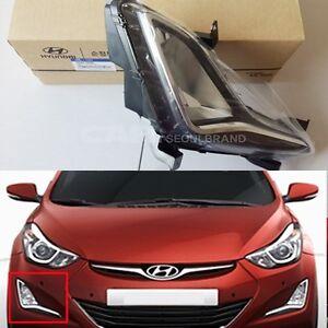 Hyundai-2014-2015-Elantra-Fog-Light-Right-RH-Lamp-Genuine-OEM-92202-3X200