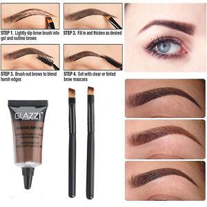 Brown-Waterproof-Tint-Eyebrow-Henna-With-2PC-Mascara-Eyebrows-Paint-Brush-Set-JT