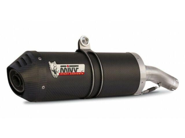 B.010.LEC - Silenciador Escape Mivv Oval Carbon/Carbon Cap BMW K 1300 R 09>