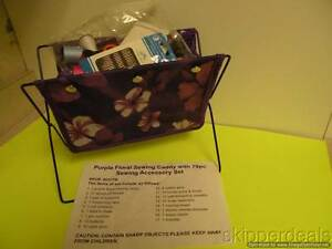 79 pc SEWING CADDY AND ACCESSORY SET BRAND NEW