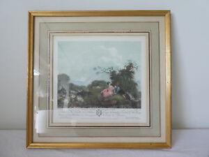 Ancienne-Gravure-couleur-ANETTE-a-L-039-AGE-DE-VINGT-ANS-de-Francois-GODEFROY