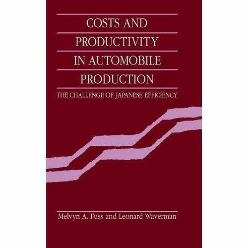 Costs Productivity Automobile Production Challenge Japanese Effic… 9780521341417