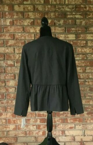NWT Doncaster Charcoal Gray Coat