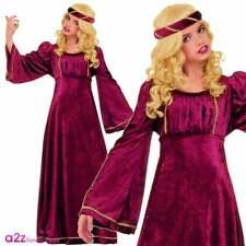 Girls Juliet Renaissance Princess Medieval Book Day Kid Fancy Dress Costume CC96