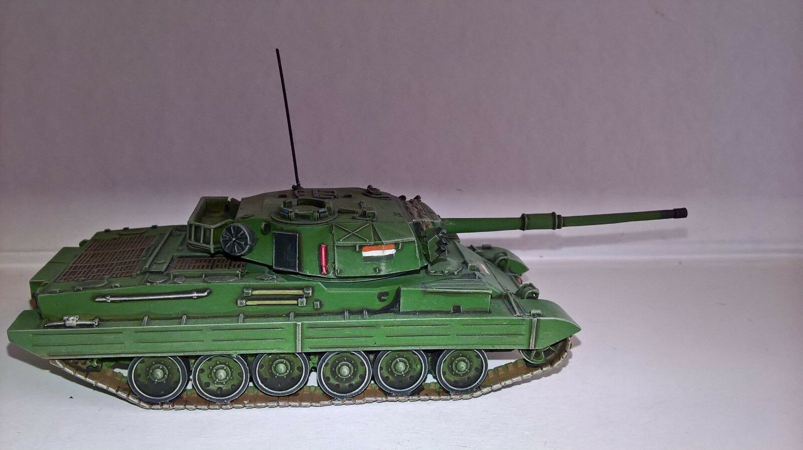 Expertly built & painted 1 76 Vijayante MBT