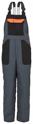 Begeistert Kwf Chainsaw Bib And Brace Chaps Pants Dungarees Trousers