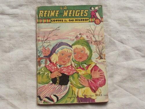 La reine des neiges,Contes du gai Pierrot,1952,EO