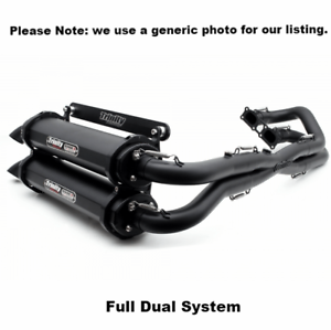 Details about Trinity Exhaust Can-am Maverick X3 Dual Full Muffler System  Cerakote 17-19