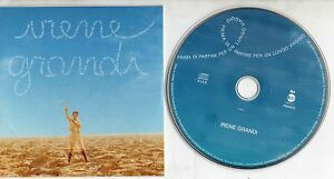 IRENE-GRANDI-CD-single-PROMO-Vasco-Rossi-CARDSLEEVE-Prima-di-partire-1-TRACCIA