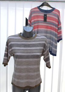 47dc71f511 Ladies M S Collection Sizes 6 10 18 20 Linen-Look Striped Short ...