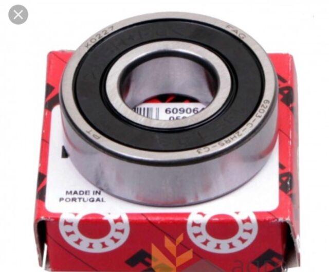 6206-2RS FAG Ball Bearing  30x62x16 mm 6206-2RSR