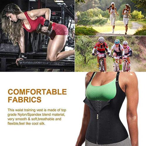 Women Waist Trainer Sauna Vest Body Shaper Corset Girdle Weight Loss Shapewear