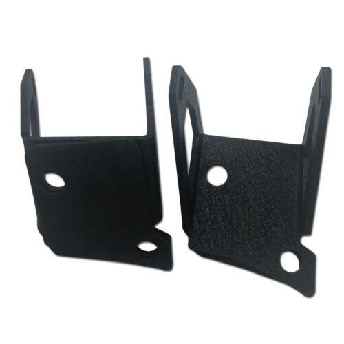 "07-15 wrangler JK single 3/"" LED Light bar windshield A-pillar mounting brackets"